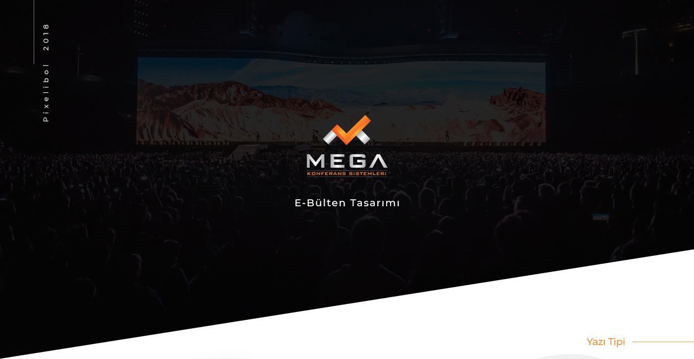 Mega Konferans E-Bülten Tasarımı